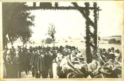 H.H. Vikar Josef Baumann nach Aufkirchen bei Dachau berufen am 1.Juli.1931